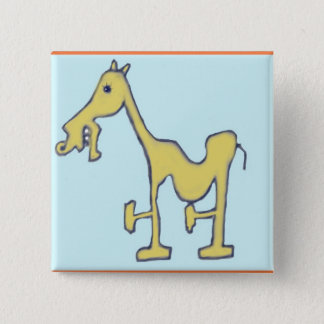 Stallion 2 Inch Square Button
