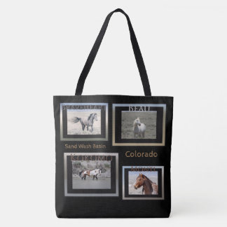 Stallion in Sand Wash Tote Bag