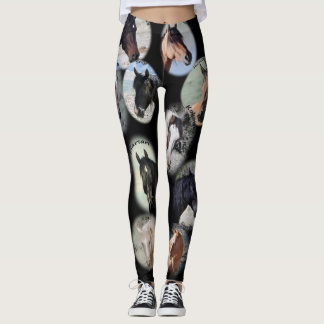 Stallions from Sand Wash Basin Leggings