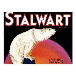 """Stalwart Brand"" Postcard"