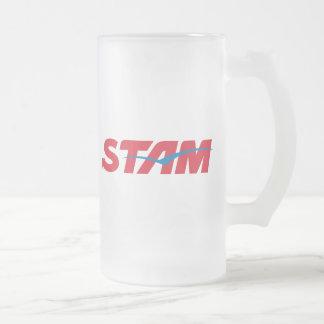 Stam Frosted Glass Beer Mug