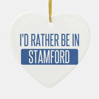 Stamford Ceramic Ornament