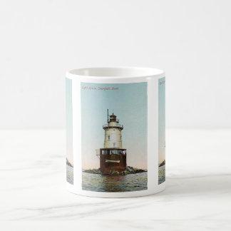 Stamford Harbor Ledge Lighthouse Coffee Mug