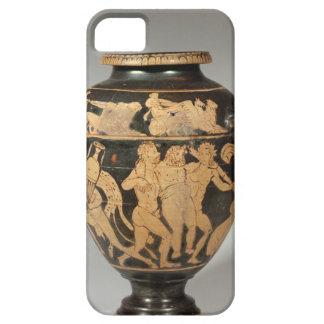 Stamnos, scène de Dionysiac, Etruscan rouge-a Coque iPhone 5