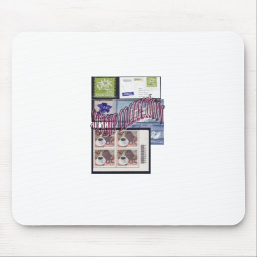Stamp collection Ethnic and Elegant Mousepads