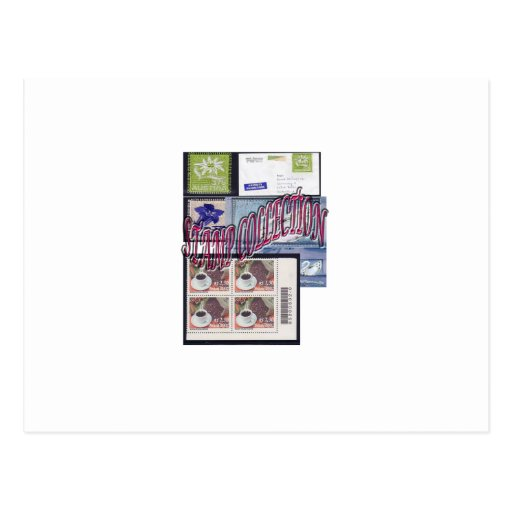 Stamp collection Ethnic and Elegant Postcards