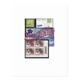 Stamp collection Ethnic and Elegant Postcard