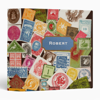 Stamp Collector Binder