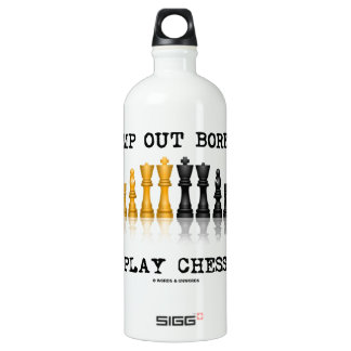 Stamp Out Boredom Play Chess (Chess Set)