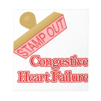 Stamp Out Congestive Heart Failure Notepad