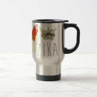 Stamp Out Zika Travel Mug