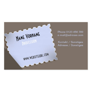 Stamp Pack Of Standard Business Cards