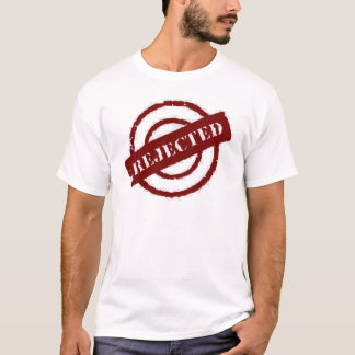 stamp rejected red T-Shirt