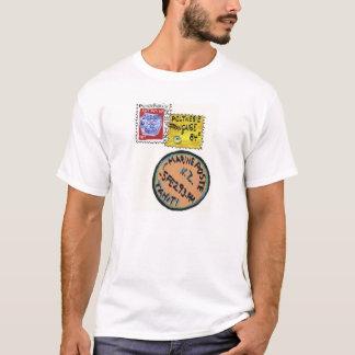 stamp t shirt