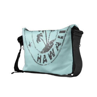 Stamped Hawaii Courier Bags