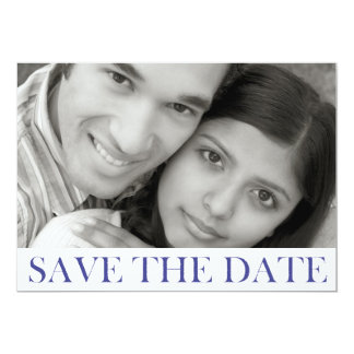 Stamped Save the Date Announcement