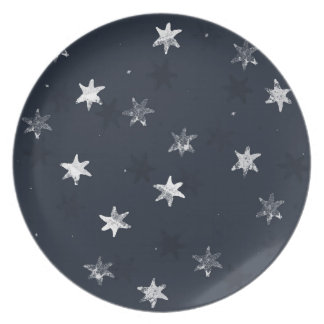 Stamped Star Plate