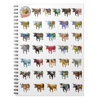 Stampede Notebook design #1