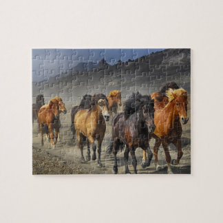 Stampeding Horses Jigsaw Puzzle