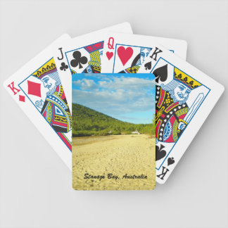 Stanage Bay Australia playing cards