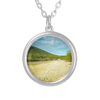 Stanage Bay Australia Silver Plated Necklace
