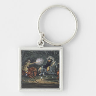 Stand and Deliver, aquatinted by E. Duncan Keychains