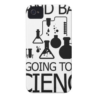 STAND BACK funny design iPhone 4 Case-Mate Cases