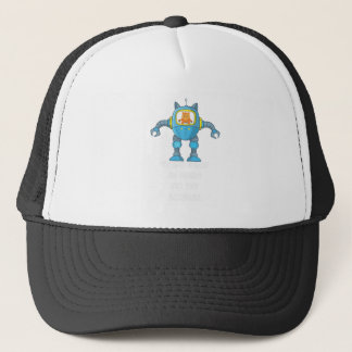Stand Back Going To Try Science Cute Scientist Cat Trucker Hat