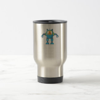 Stand Back Going To Try Science Funny Robot Cat Travel Mug