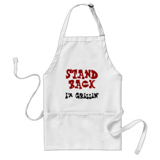 Stand back - I'm Grillin' BBQ Apron