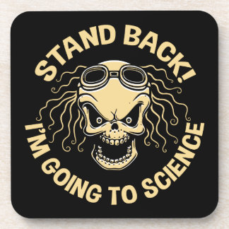 Stand Back! Science Beverage Coasters