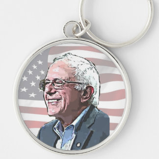 Stand by Bernie Sanders Political Key Chain