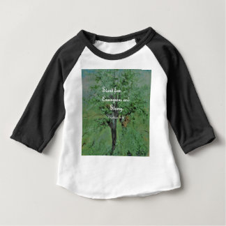 Stand Firm Courageous and Strong Baby T-Shirt