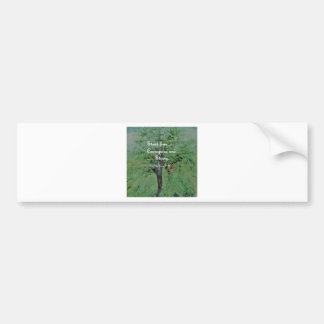 Stand Firm Courageous and Strong Bumper Sticker