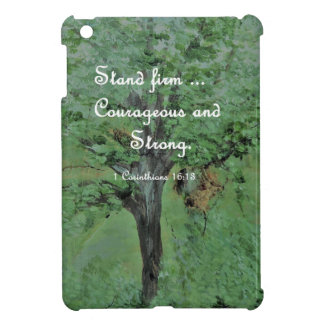 Stand Firm Courageous and Strong Case For The iPad Mini