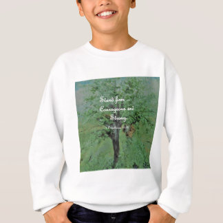 Stand Firm Courageous and Strong Sweatshirt