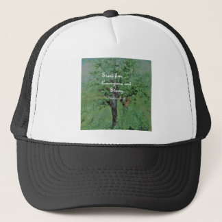 Stand Firm Courageous and Strong Trucker Hat