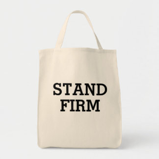 Stand Firm Grocery Tote