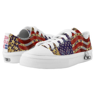 Stand for America Low-Top Sneakers
