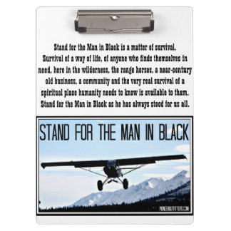 Stand for the Man in Black Clipboard