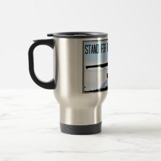 Stand for the Man in Black Travel Mug