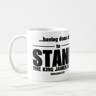 Stand Mug! Coffee Mug