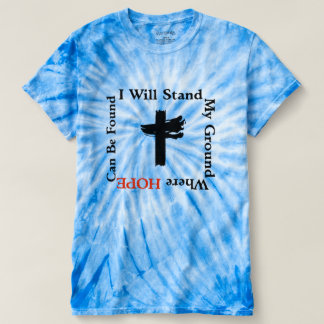 Stand My Ground/Hope Men's Cyclone Tie-Dye T-Shirt