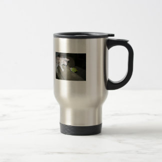 Stand off travel mug