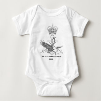 stand on guard for thee baby bodysuit