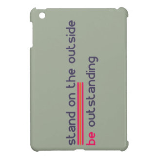 Stand on the outside be Outstanding iPad Mini Cases