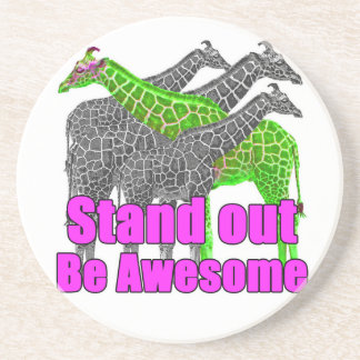 Stand out and be Awesome Coaster