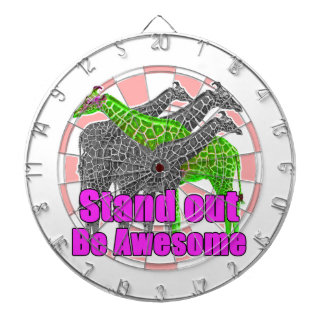 Stand out and be Awesome Dartboard