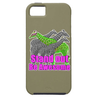 Stand out and be Awesome iPhone 5 Case