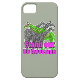 Stand out and be Awesome iPhone 5 Covers